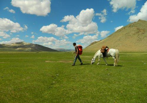 Traversée de la Mongolie à pied et en solitaire - 11h