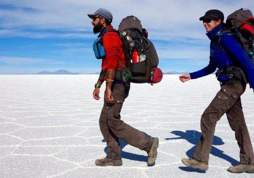Voyage en marche 7 000 km à pied autour du monde - 15h30
